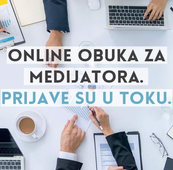Online obuka za medijatora
