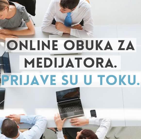 online obuka za specijalizovane obuke za medijatore